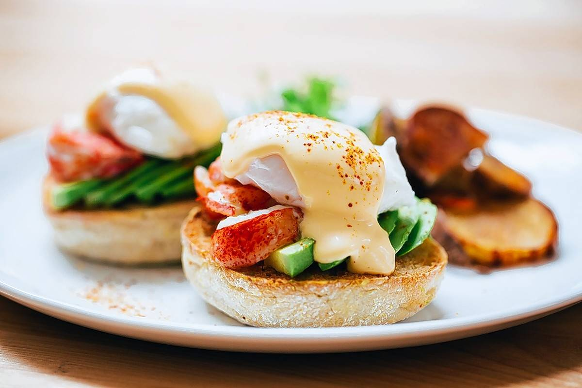 Dig in to Di Pescara's Lobster Benedict on Easter Sunday.