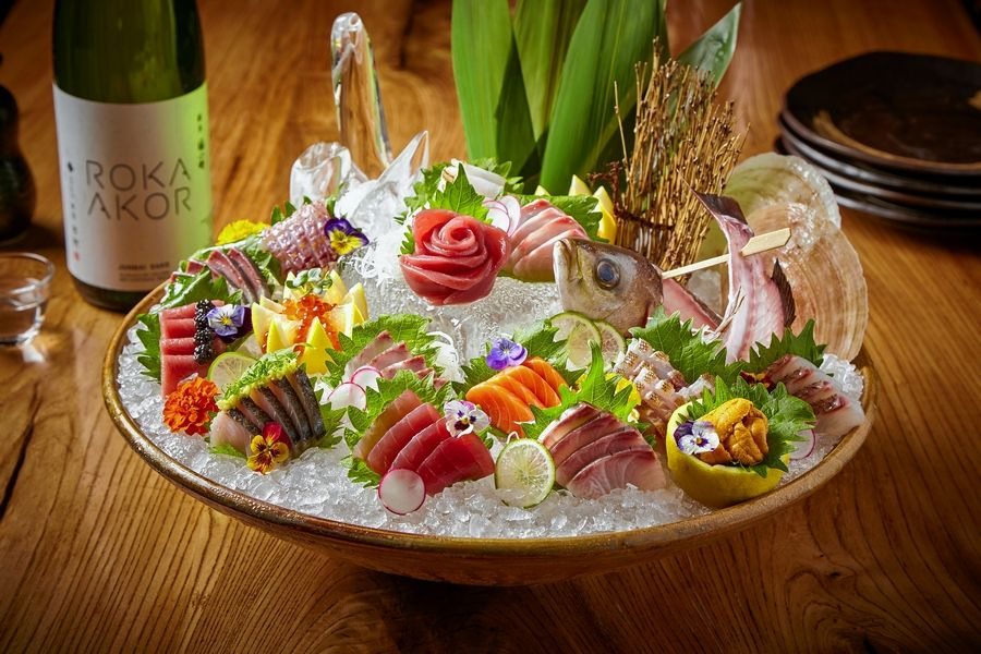 The sashimi platter will be on Roka Akor's special Easter Sunday menu.