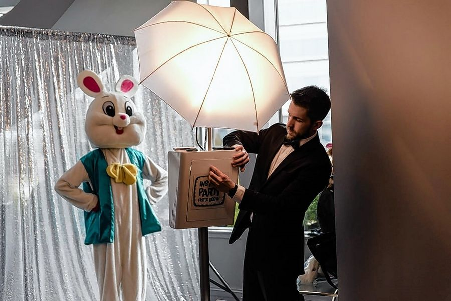 Get your picture taken with the Easter Bunny during The Estate's Easter brunch April 21.