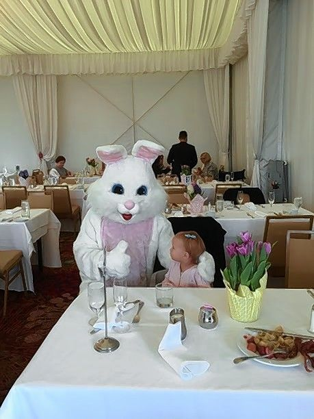 Meet the Easter Bunny during the Sunday, April 21, buffet at the Lincolnshire Marriott Resort.