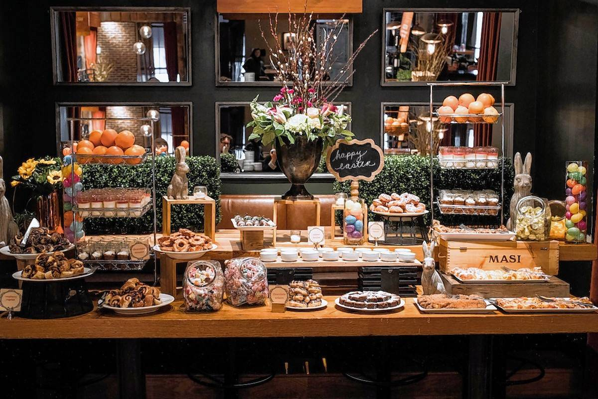 Saranello's will be preparing quite a spread for Easter Sunday.