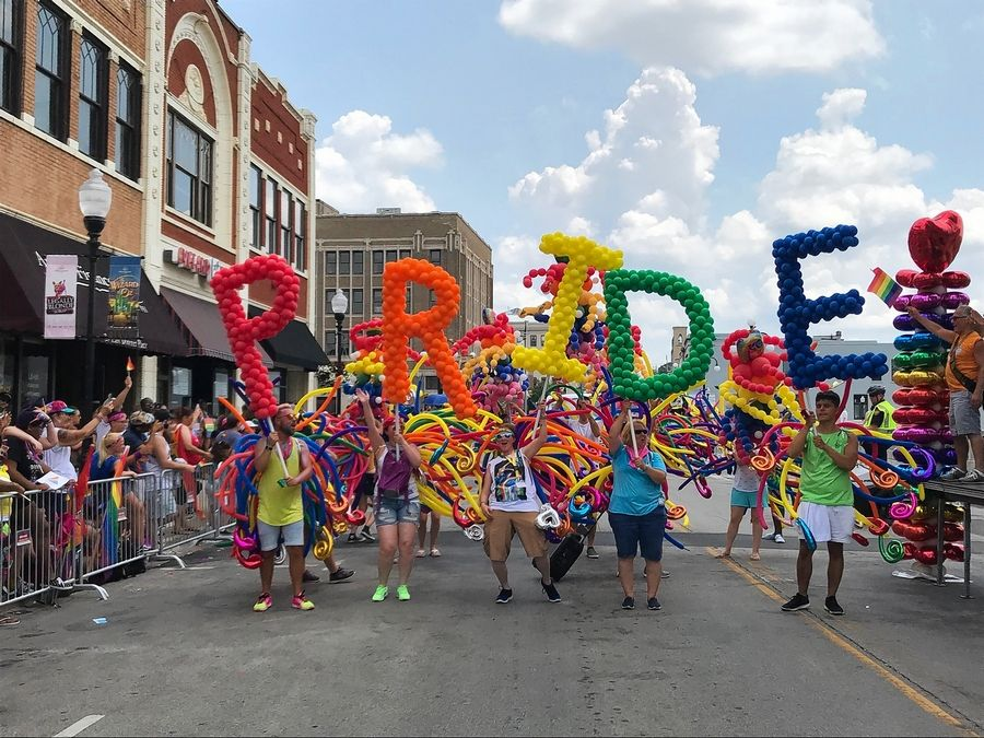 In 2018, Aurora became the first Illinois city outside of Chicago to host a gay pride parade. The group Indivisible Aurora has canceled this year's parade because of a surge in costs.
