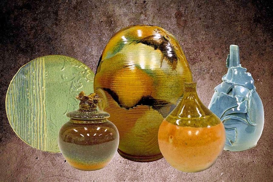 Harper pottery sale features student, faculty pieces