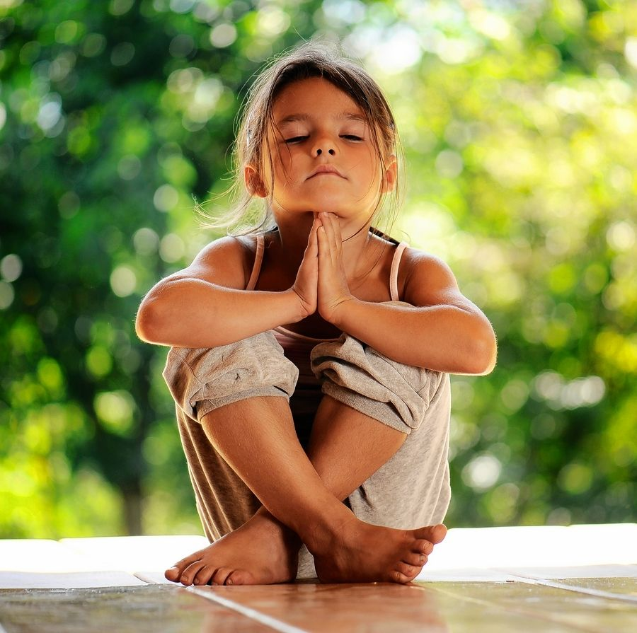 Meditation practice can be beneficial for some children with special needs.