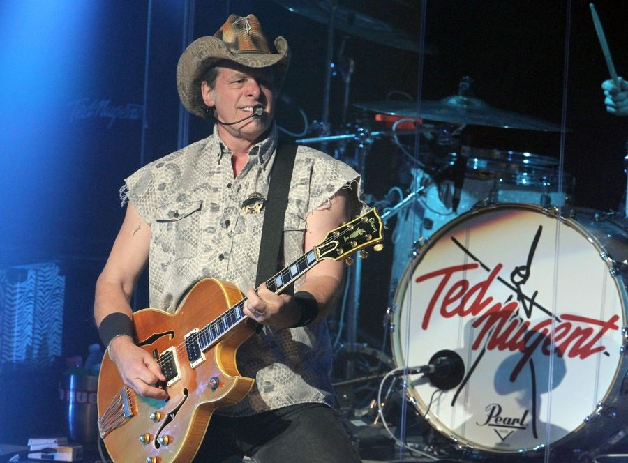 Jeff Kleinschmidt said he expected some criticism but didn't anticipate the firestorm about booking rocker Ted Nugent for the McHenry County Fair in August. Nugent is shown here performing in 2016 in Atlanta.