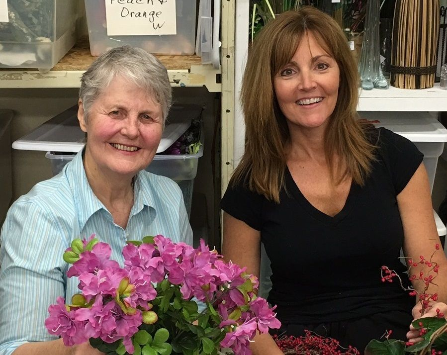 "Mother and daughter Bonnie Bjerning, left, and Catherine Komaromy will speak at Home of the Sparrow's ""Celebration of Women"" spring luncheon on Friday, May 10."