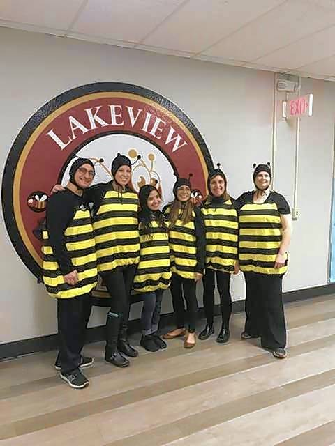 Lakeview staff colonized to form the Lakeview Bees.Cheryl Caesar