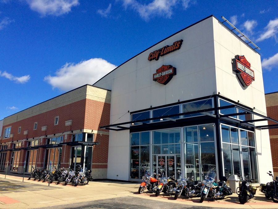 City Limits Harley-Davidson in Palatine will host four festivals starting later this month. The village council on Monday night authorized beer sales.