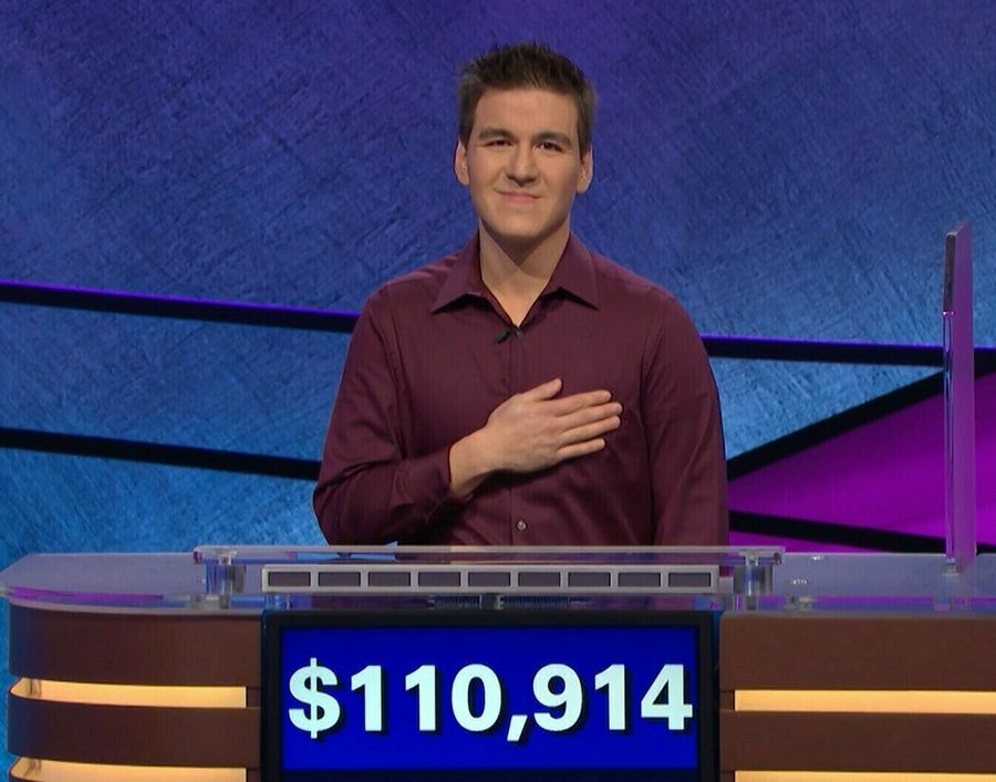 "James Holzhauer has already topped his record-breaking ""Jeopardy!"" total seen here -- Holzhauer won $131,127 during the show that aired Wednesday night, breaking the record that viewers saw him set last week."
