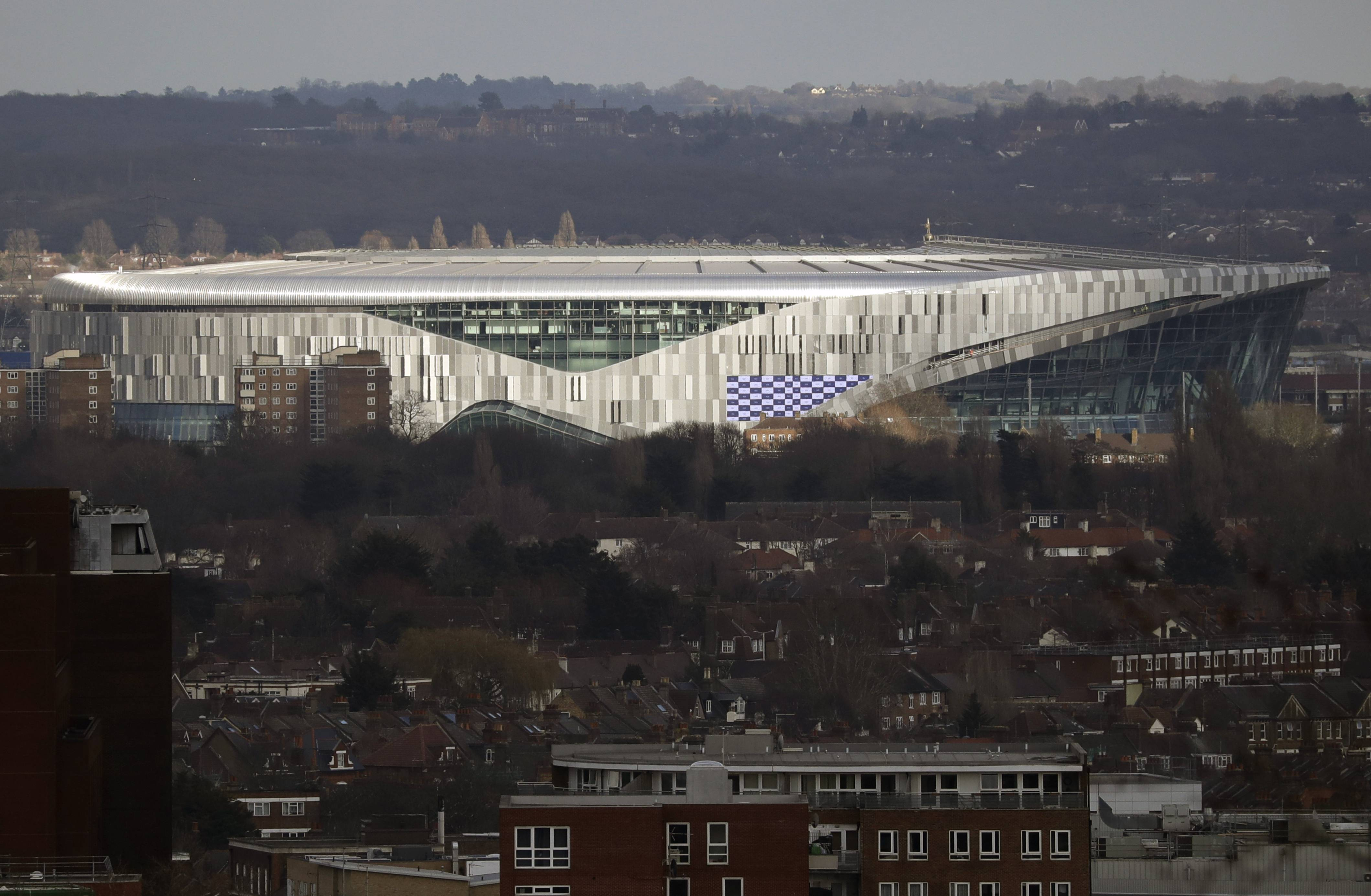 The Chicago Bears will be the first NFL team to play at Tottenham Hotspur's new stadium in London for one of five international games on the 2019 schedule.