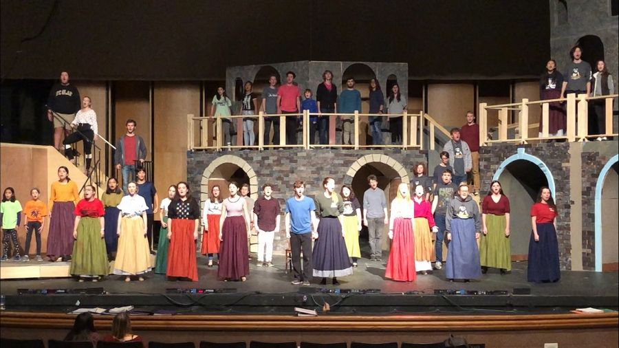 "Grayslake Central High School's production of ""Les Miserables"" received best actor and best actress nominations in the Illinois High School Musical Theatre Awards."