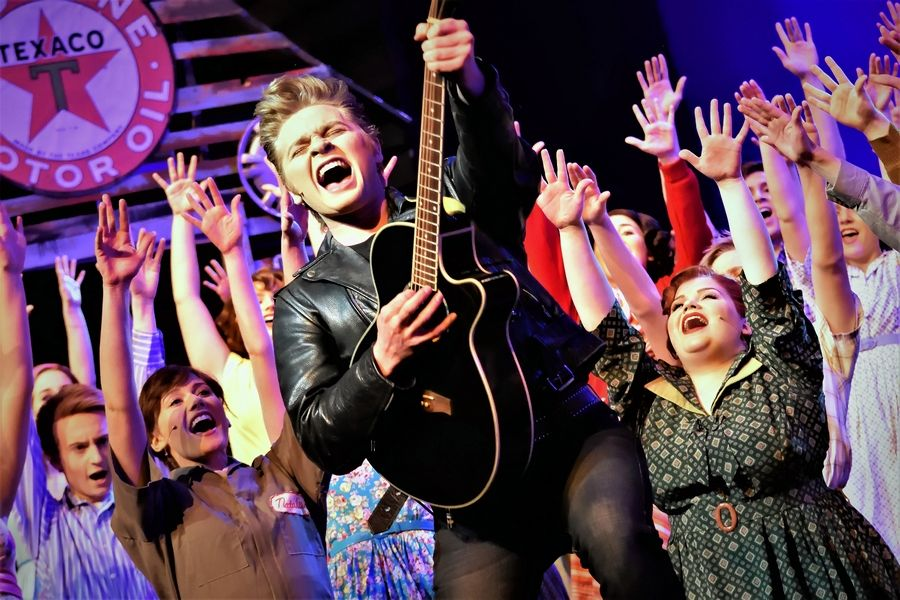 "Cary-Grove High School's production of ""All Shook Up"" was nominated for a number of Illinois High School Musical Theatre Awards, including best production, best scenic design and best ensemble."