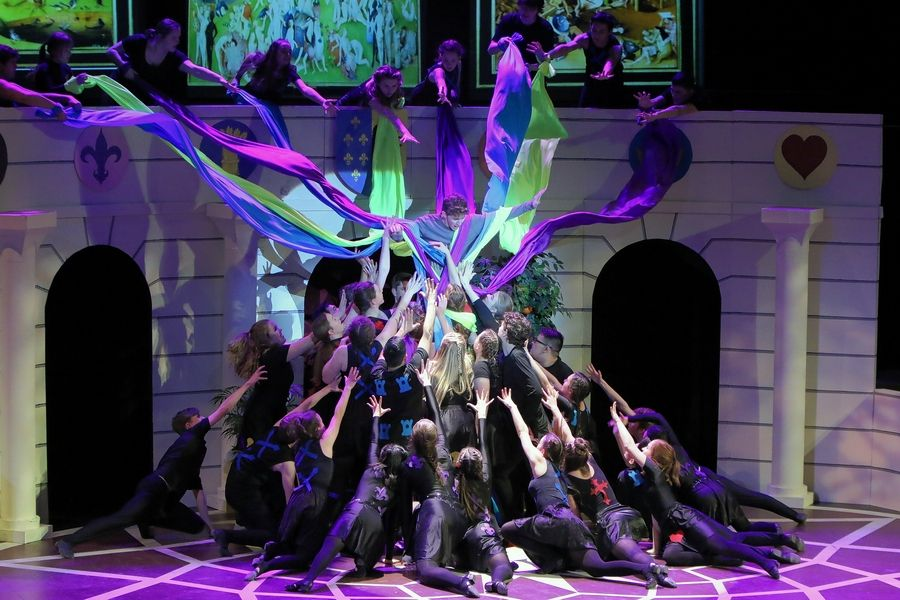 "Benet Academy's ""Pippin"" was nominated for Illinois High School Musical Theatre Awards in a few categories, including best production and scenic design."