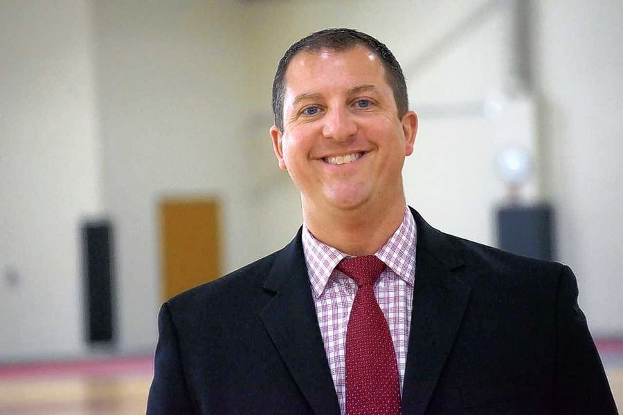 "Huntley Community School District 158 Superintendent Scott Rowe says Huntley High School's growing blended program is a testament to the district's ""innovative spirit."""