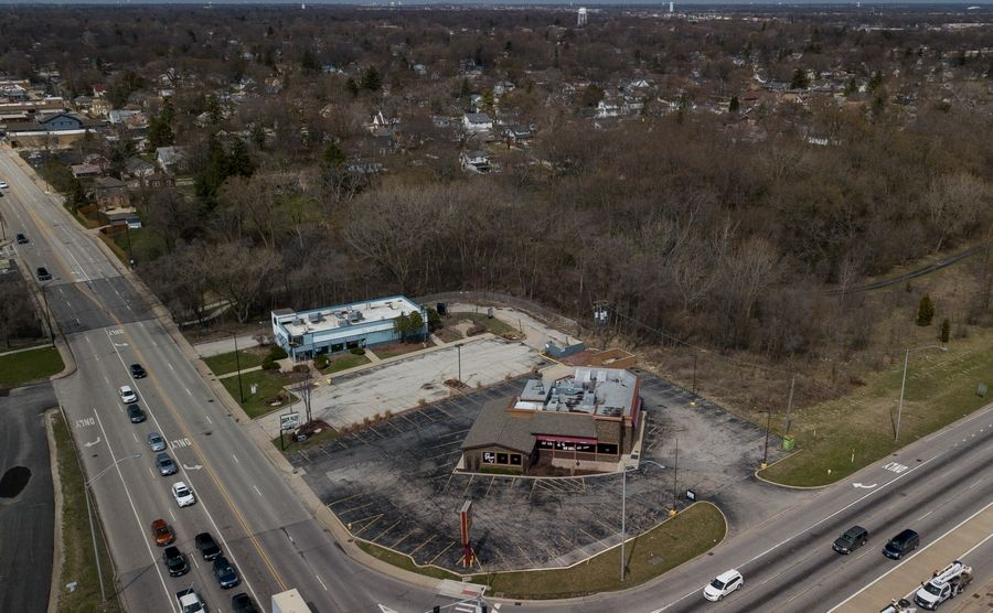 The prospect of a gas station at the northwest corner of Route 83 and St. Charles Road is facing strong opposition from neighbors in the Pick subdivision.