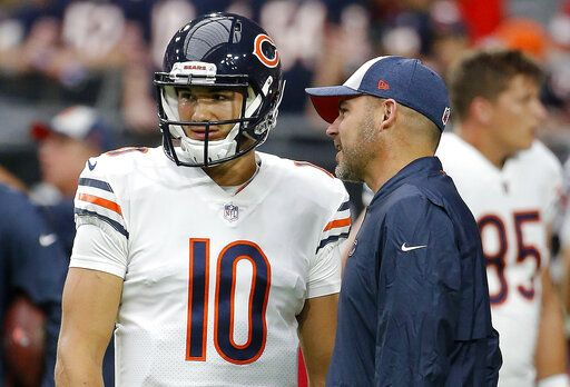 6a31a307b FILE - In this Sept. 23, 2018, file photo, Chicago Bears quarterback