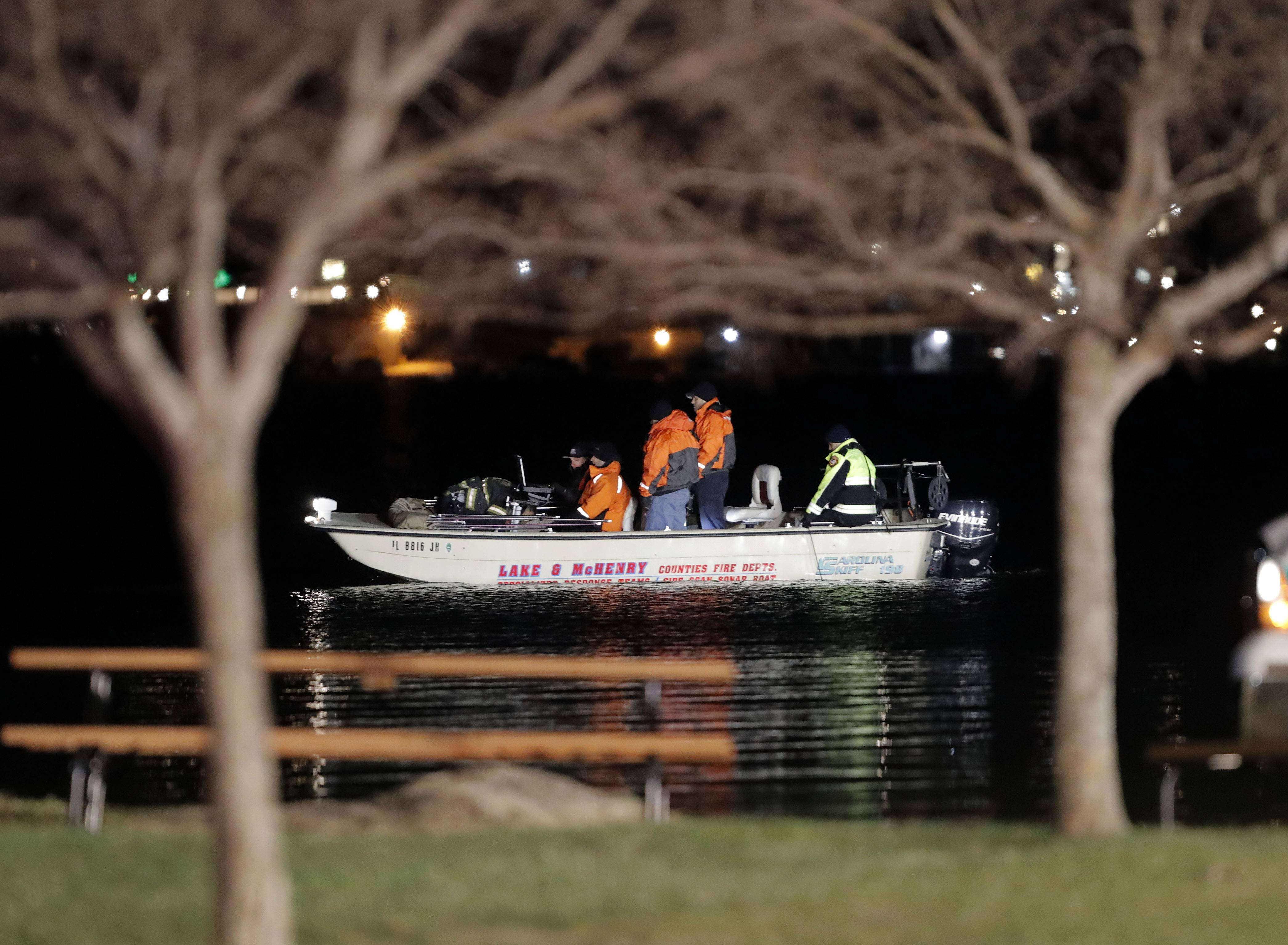 Search for second boy in Wauconda's Bangs Lake called a recovery effort