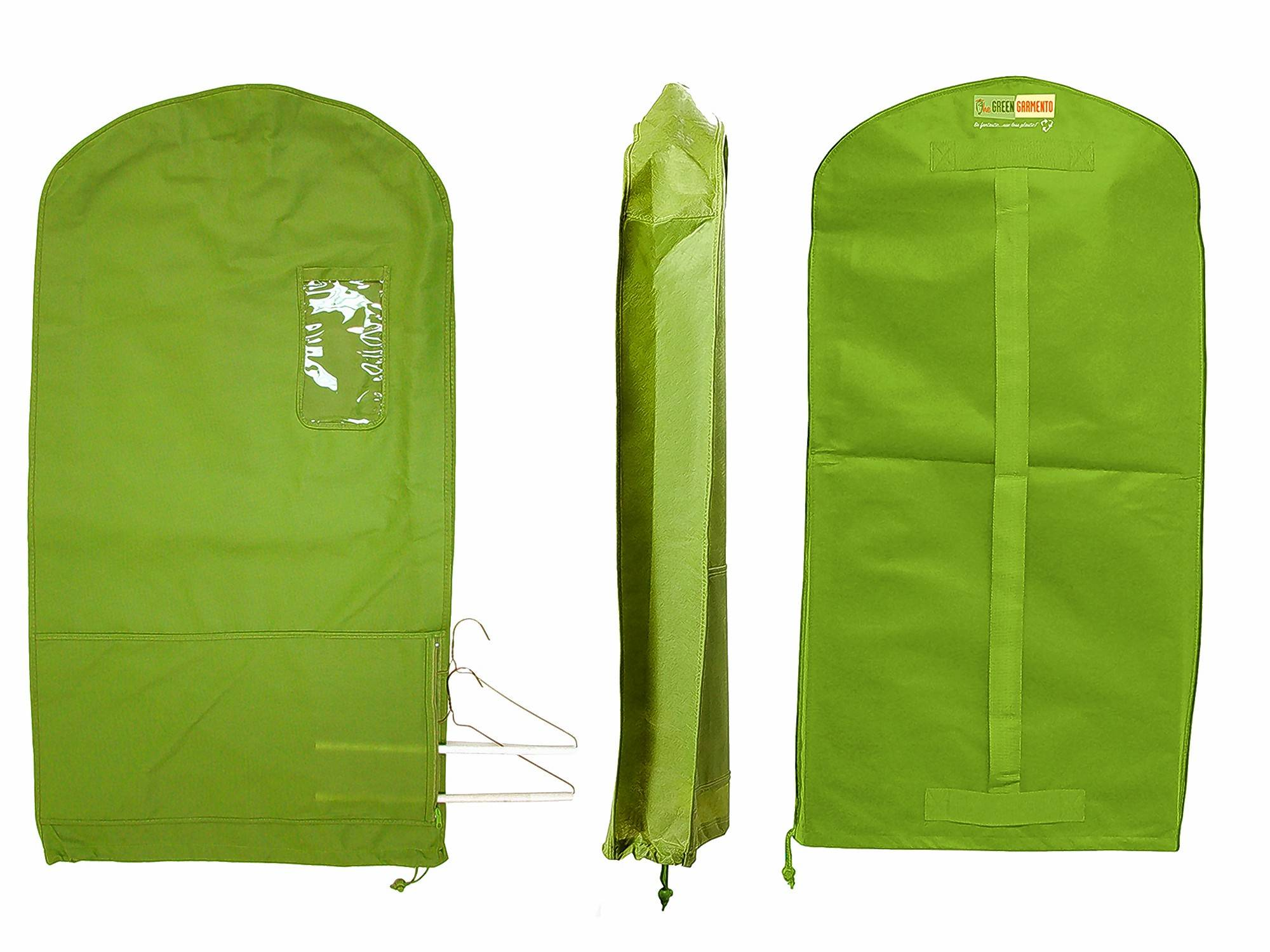 Green Garmento markets an eco-friendly reusable garment/duffel/laundry bag that can help you green your dry-cleaning routine and eliminate plastic.