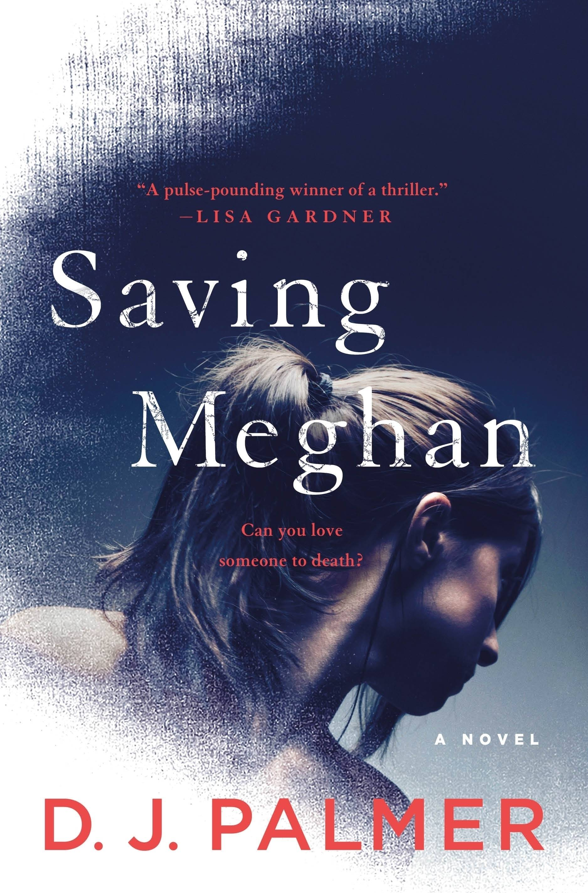 """Saving Meghan,"" a novel by D.J. Palmer."