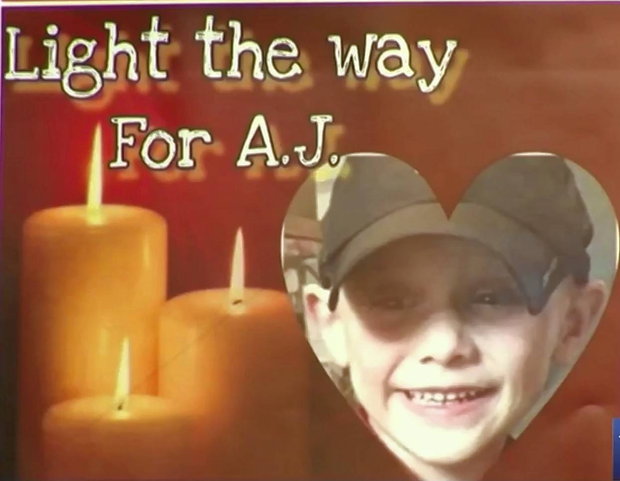 "A vigil called ""Light the way for A.J."" was held Saturday evening in Crystal Lake for missing 5-year-old Andrew ""AJ"" Freund."
