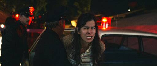 "This image released by Warner Bros. Pictures shows Patricia Velasquez in a scene from ""The Curse of La Llorona."" (Warner Bros. Pictures via AP)"