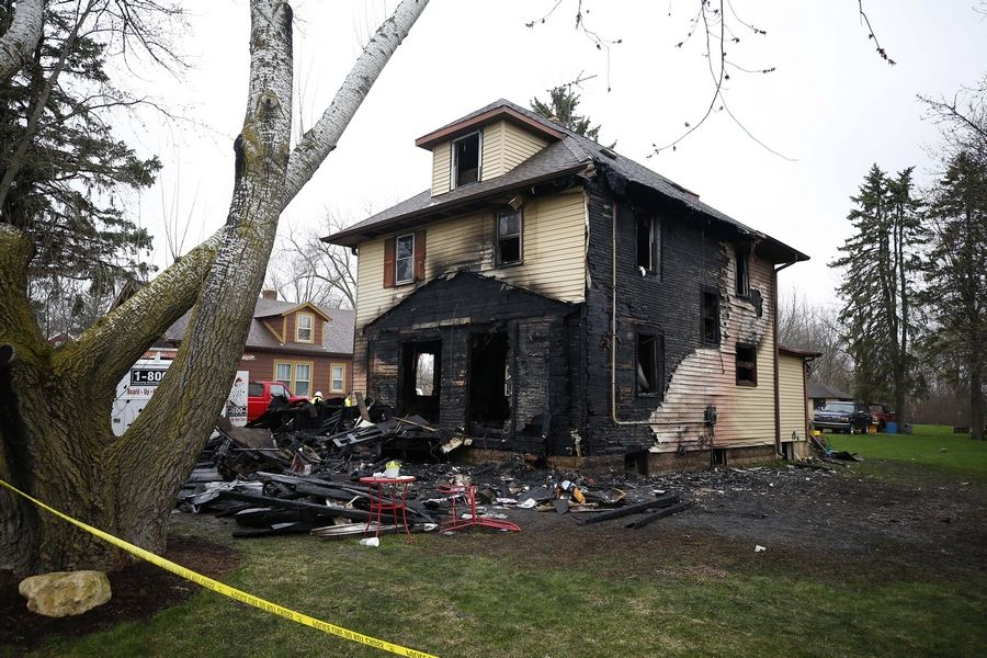 A second man has died as a result of injuries suffered Wednesday when fire swept through this home in 100 block of West Grand Lake Boulevard in West Chicago, authorities confirmed Sunday.