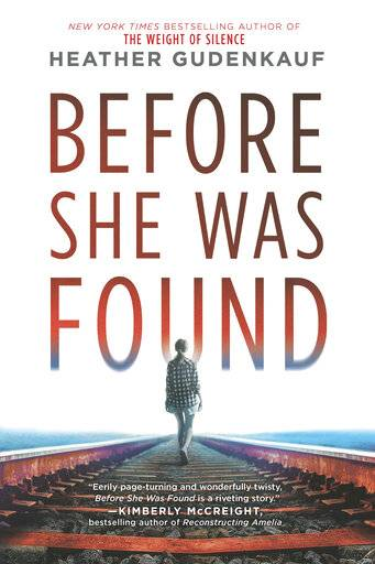 "This cover image released by Park Row shows ""Before She was Found,"" by Heather Gudenkauf. (Park Row via AP)"