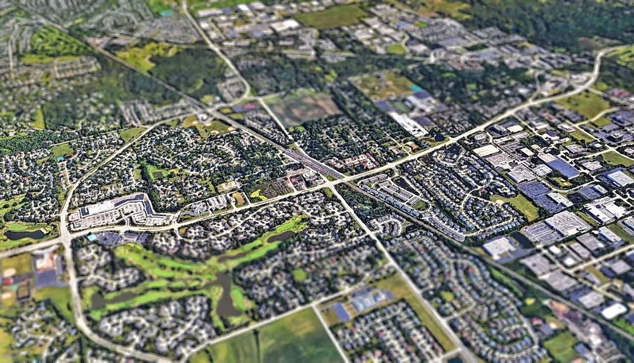 The Prairie View Metra Station Area Plan calls for a mix of single-family and multifamily homes, as well as commercial properties, in a 128-acre area surrounding the commuter station on the north side of the village.
