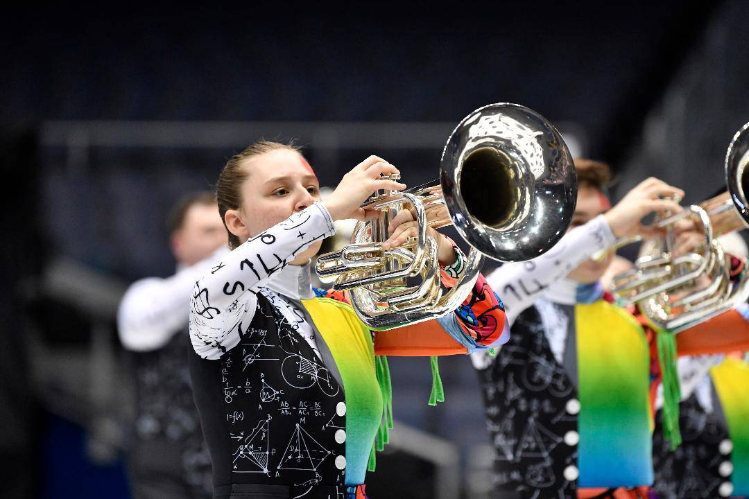Rosemont-based Chromium Winds was awarded gold in Independent Open at this year's Winter Guard International Percussion and Winds World Championships. In the wind ensembles, students play traditional brass instruments, including trumpets, mellophones, baritones and tubas, as well as alto, tenor and baritone saxophones.
