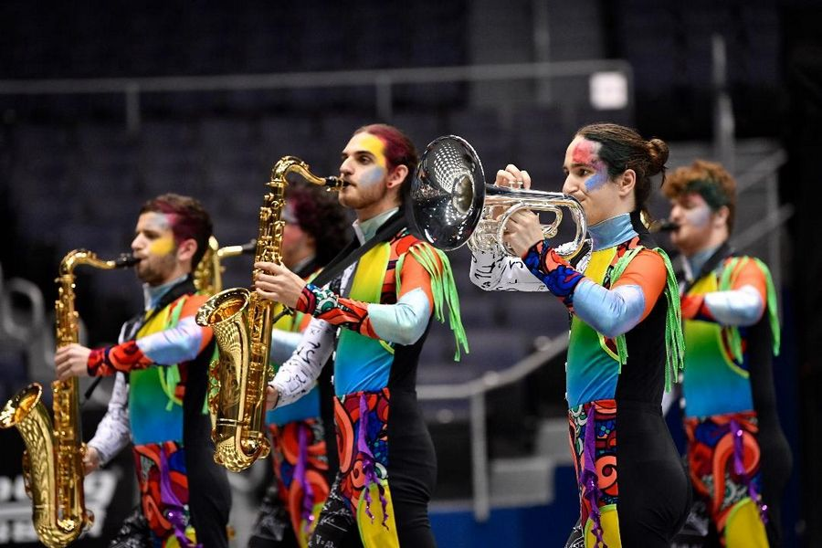Rosemont-based Chromium Winds was awarded gold in Independent Open at this year's Winter Guard International Percussion and Winds World Championships.