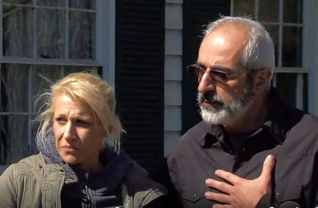 "JoAnn Cunningham, mother of Andrew ""AJ"" Freund, 5, who has been missing since he was last seen a week ago at his Crystal Lake home, appeared outside the home Friday afternoon with her attorney, George Kililis, for a brief news conference in which Kililis said she had nothing to do with the boy's disappearance."