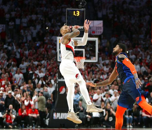 Once Again, Lillard Time Moves Blazers Along In The Playoffs