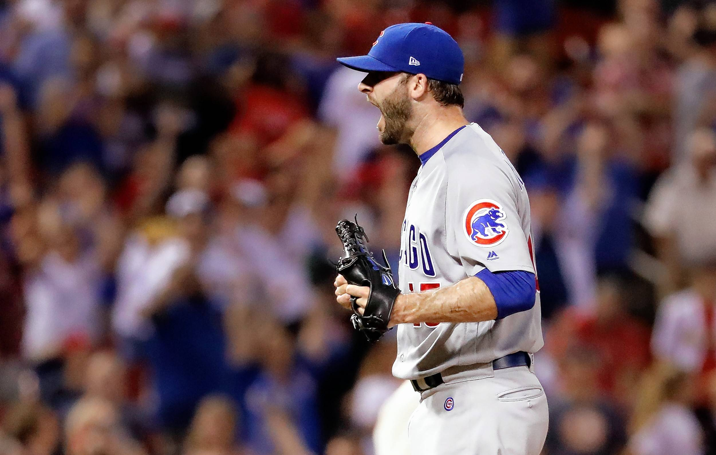 The Chicago Cubs have shut down injured closer Brandon Morrow, but team president Theo Epstein said Thursday he believes Morrow will pitch this season.