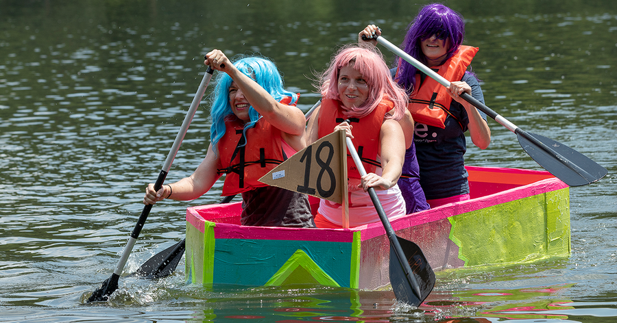 The Glen Ellyn Park District will offer a seminar on building cardboard boats on Saturday, May 18. The annual Lake Ellyn Cardboard Regatta will be Saturday, June 29.