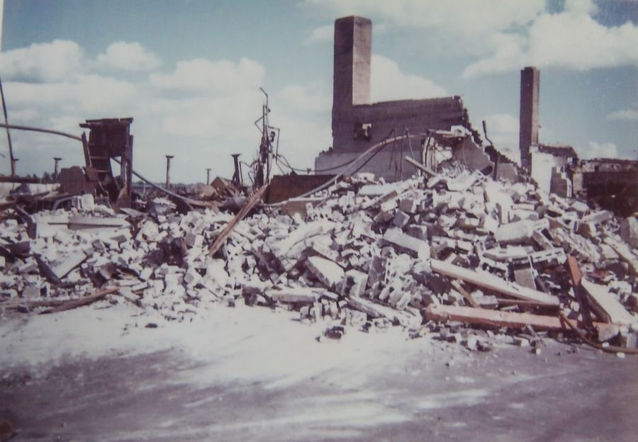 The original Wheaton Bowl was destroyed by a fire in the 1970s.