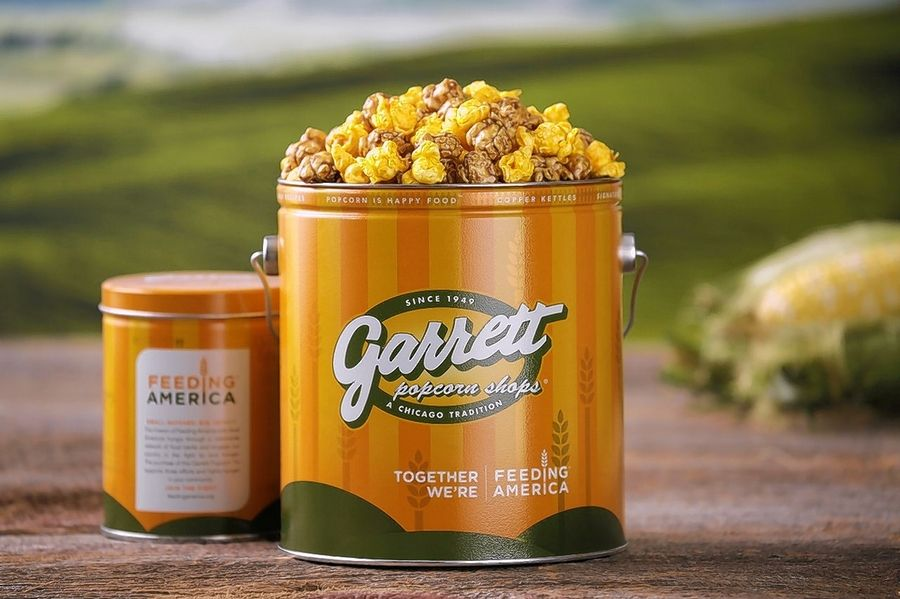 It's now a trifecta of dentist-challenging delights at O'Hare International Airport. A third Garrett Popcorn Shops location has opened there.