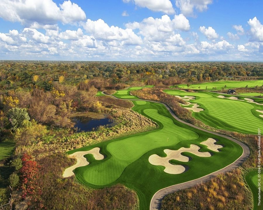 Critically acclaimed ThunderHawk Golf Club in Beach Park is one of three public golf courses operated by the Lake County Forest Preserves.