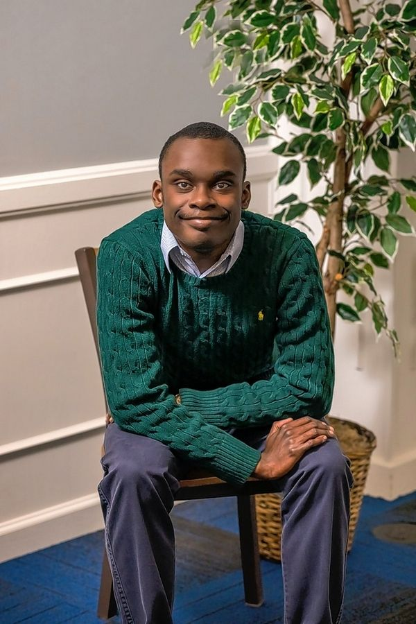 Daniel Bovell, 19, of Rockford, is among the first graduating class of Judson University's Road to Independent Living, Spiritual Formation and Employment, or RISE, program for adults with intellectual disabilities.