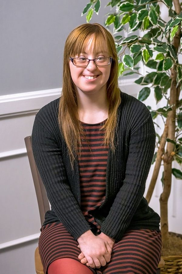 Alexis Winegard, 25, of Vernon Hills, is among the first graduating class of Judson University's Road to Independent Living, Spiritual Formation and Employment, or RISE, program for adults with intellectual disabilities.