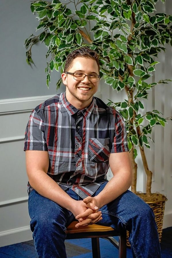 Chris Chavez, 20, of West Chicago, is among the first graduating class of Judson University's Road to Independent Living, Spiritual Formation and Employment, or RISE, program for adults with intellectual disabilities.