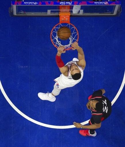 76ers' Ben Simmons Penalized For Elbowing Lowry In Groin