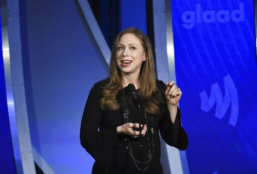 Author Chelsea Clinton speaks at the 30th annual GLAAD Media Awards at the New York Hilton Midtown on Saturday, May 4, 2019, in New York. (Photo by Evan Agostini/Invision/AP)