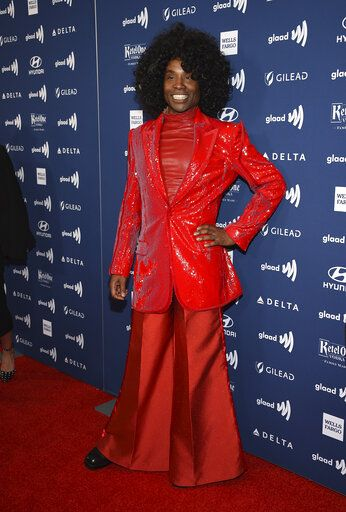 Actor Billy Porter attends the 30th annual GLAAD Media Awards at the New York Hilton Midtown on Saturday, May 4, 2019, in New York. (Photo by Evan Agostini/Invision/AP)