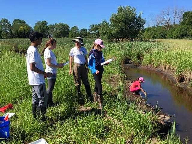 A $5,000 grant from the Barrington Area Community Foundation will allow three Barrington-area conservation organizations to collaborate on water-conservation activities and efforts, such as stream side planting at Flint Creek.