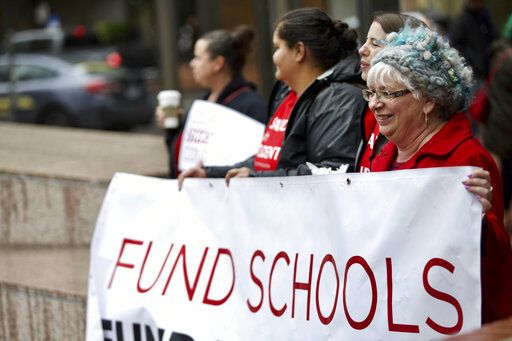 Educators Speak Out On Underfunding Of >> Oregon Teachers Walk Out Demanding Better School Funding