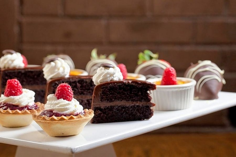Decadent desserts will tempt diners during the special Mother's Day brunch at Shaw's Schaumburg.