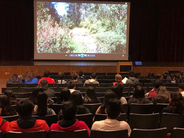 "Students at West Chicago Community High School had the opportunity to view ""The Guardians,"" a film which is focused on monarch butterfly conservation."