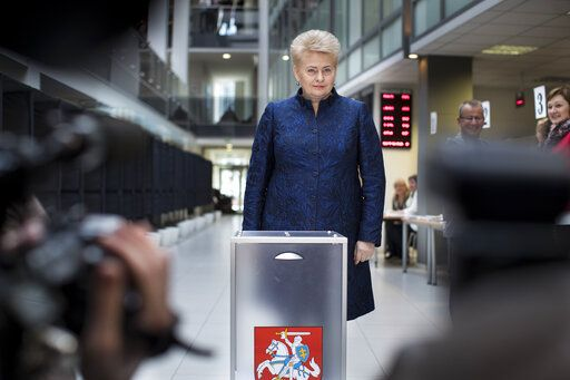 Voters to pick successor of Lithuania's popular 'Iron Lady'