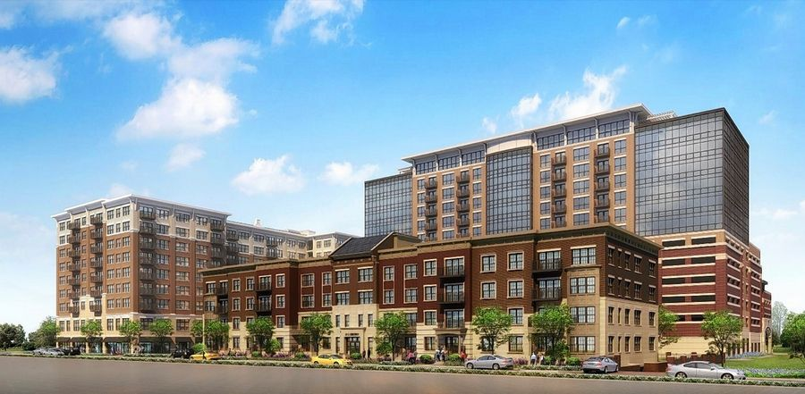 Developer CCH LLC got approval Monday to build its proposed three-building residential and commercial campus on the northern three-quarters of a vacant parcel bounded by Campbell Street, Highland Avenue, Sigwalt Street and Chestnut Avenue in Arlington Heights.