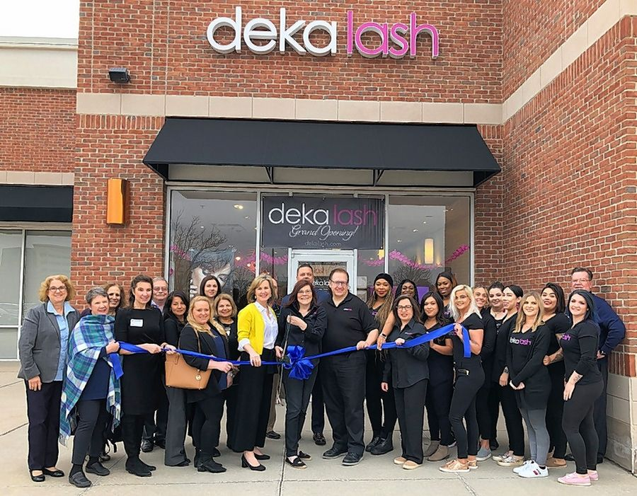 The Barrington Area Chamber of Commerce recently gathered with the village of Deer Park for a ribbon-cutting ceremony on to celebrate the grand opening of Deka Lash, 20330 N. Deer Park Blvd., Ste. 128 in the Deer Park Town Center. Deka Lash provides semi-permanent eyelash extensions.